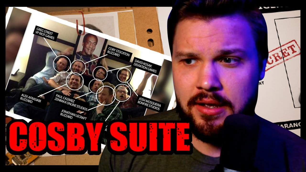 Blizzard/Activision Had A Secret Initiation Room for Women ... 'Cosby Suite'