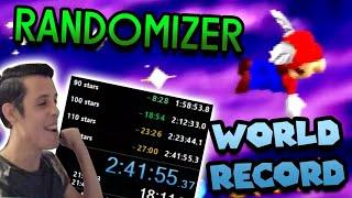 I DESTROYED the Randomizer Speedrun World Record | Super Mario 64 120 Star