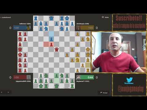 A que jugador atacar en el ajedrez de cuatro personas