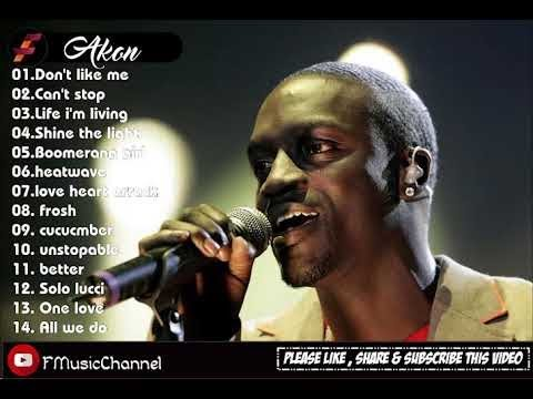 Akon Greatest hits full album the best song   lagu pilihan terbaik cover 2018 by Fmusic Channel