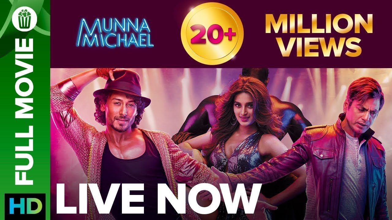 Download Munna Michael | Full Movie LIVE on Eros Now | Tiger Shroff, Nawazuddin Siddiqui & Nidhhi Agerwal
