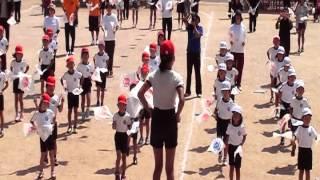 魚目小学校旗体操