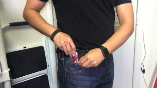 EDC Update May 2017 featuring the 5.11 Tactical Defender-Flex Jeans