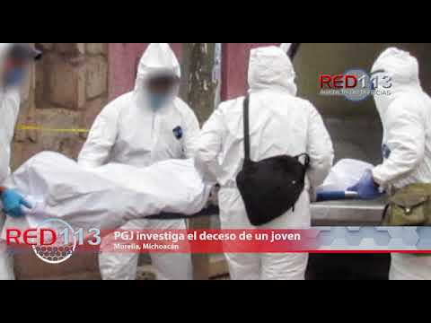 VIDEO PGJ investiga el deceso de un joven en la colonia Ampliación Isaac Arriaga