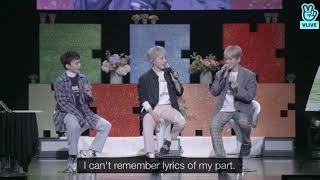 180411 baekhyun sing 'Someone Like You'  on Vlive [Eng Sub]
