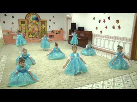"""Танец """"""""Капельки"""" МАУДО """"Детский сад №1"""" г. Ялуторовска."""