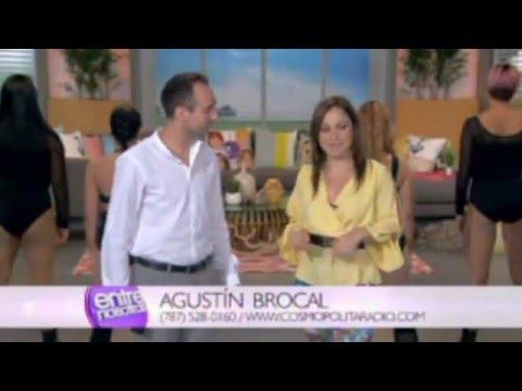 Agustín Brocal | Acabo de llegar | Entre Nosotras | Wapa TV | Puerto Rico