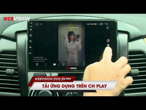 Webvision DVD X8Pro - những đột phá công nghệ cực đỉnh