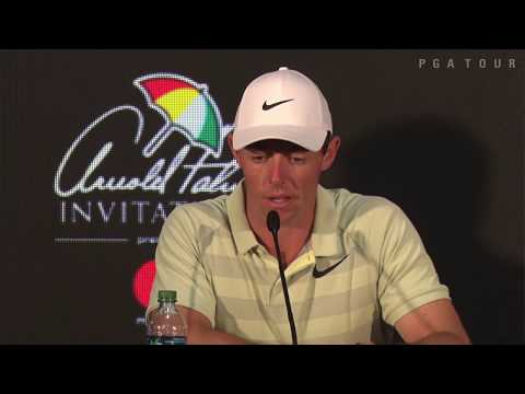 Rory McIlroy's News Conference After Winning Arnold Palmer