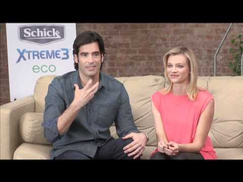 Amy Smart & Husband Carter Oosterhouse Answer HollywoodLife.com's Beauty Questions