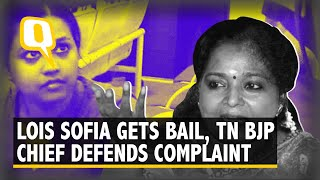 Lois Sofia Gets Bail After 'Anti-BJP' Sloganeering TN BJP Chief