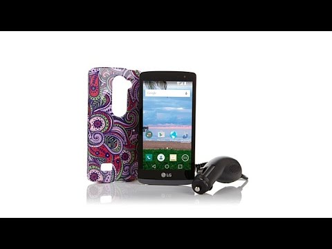 LG Sunset 4.5 4G LTE Android TracFone W/1200 Minutes   T...