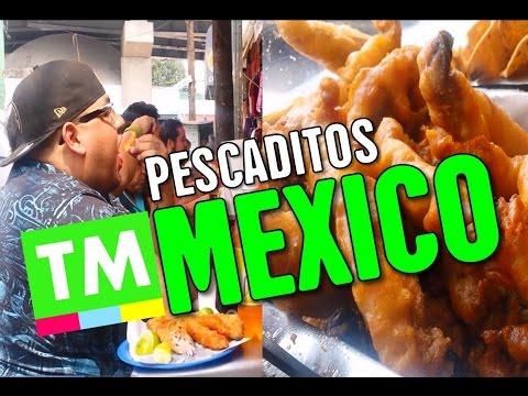 Eating FRESH Pescaditos / Fried Fish | Street Food Mexico City