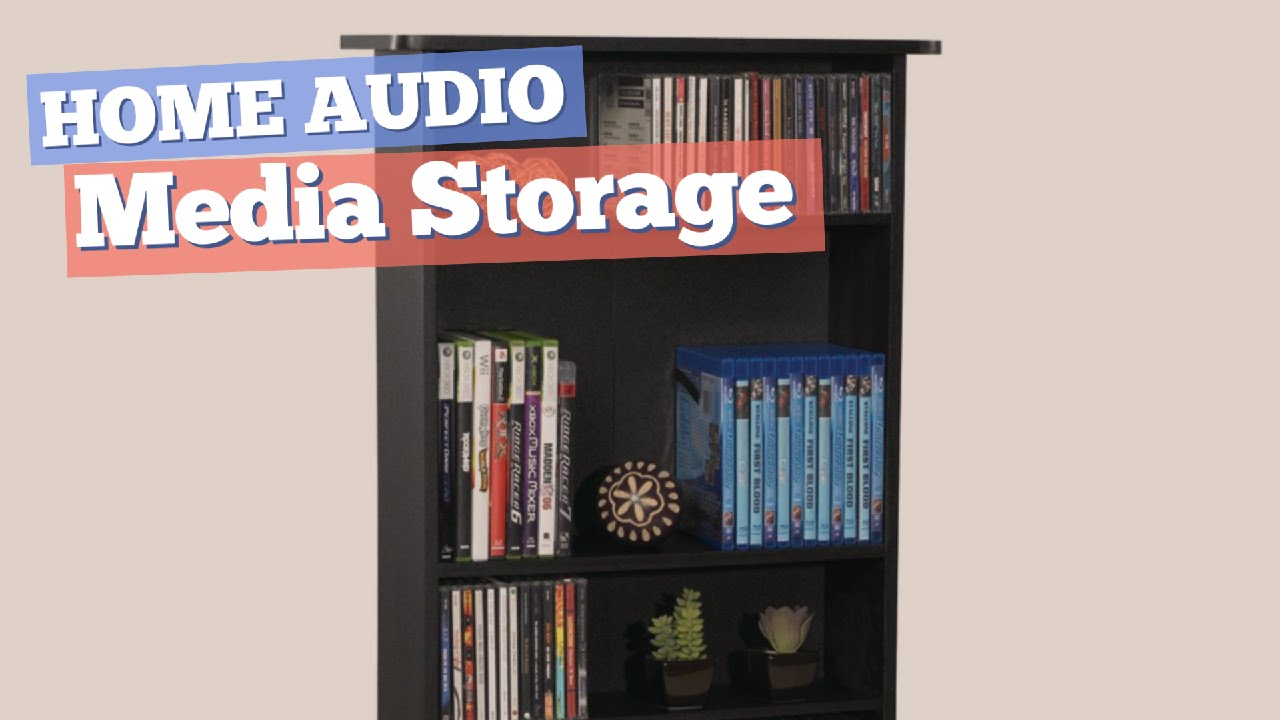 Media Storage // Home Audio Best Sellers - YouTube