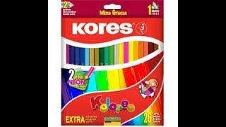 Revisando Los Colores Kores 24 Piezas
