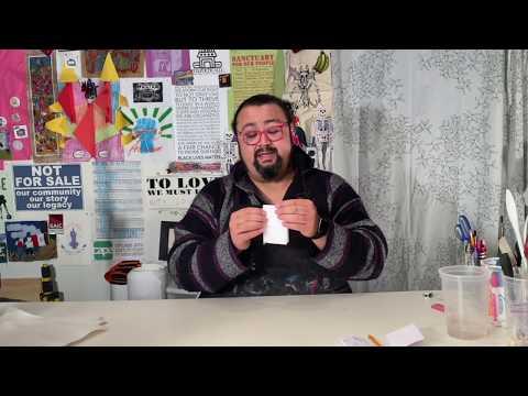 Arte With Maestro William - Episode 2 - Making A Zine - Spanish