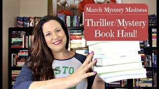 Thriller/Mystery Book Haul! March Mystery Madness 2018