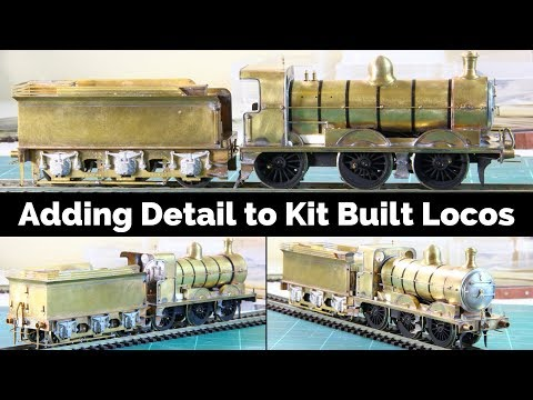Adding Detail And Boiler Bands To Kit Built Locomotives