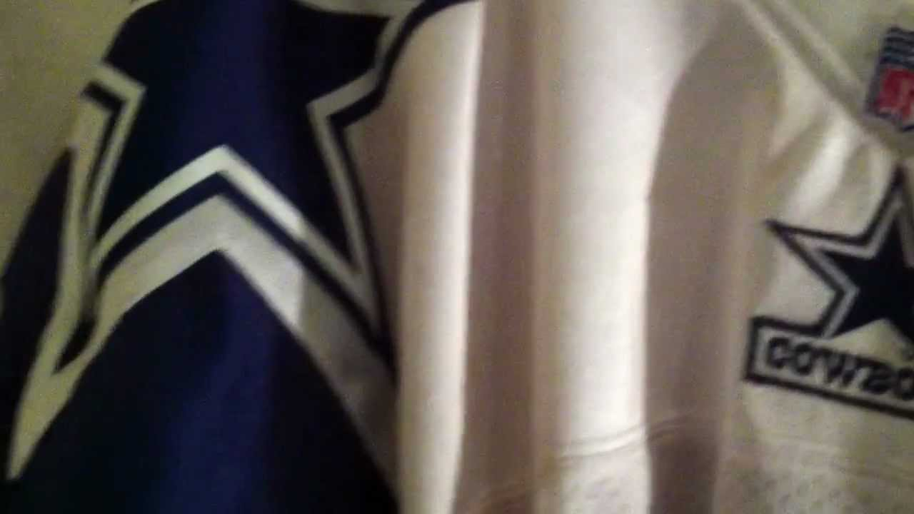 quality design b7a86 5ddb4 Mitchell and Ness 1994 Troy Aikman Dallas Cowboys Doublestar Throwback