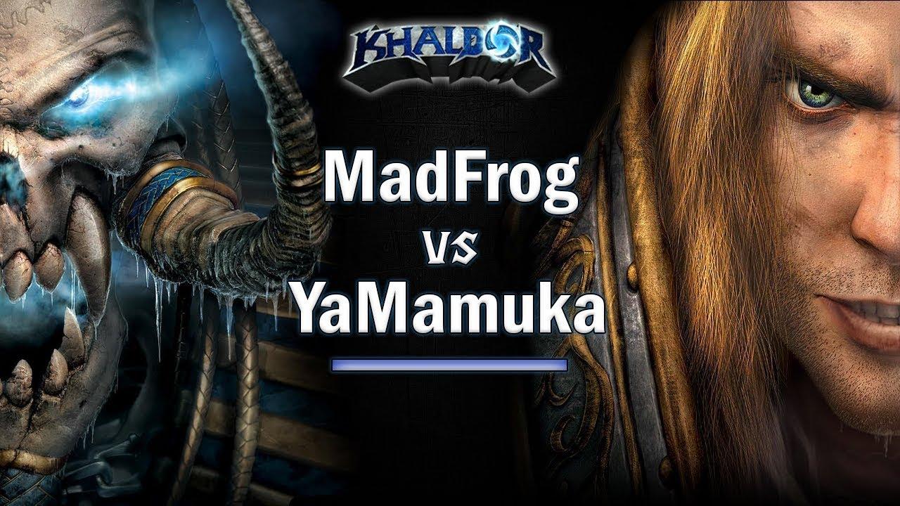 ► WarCraft 3 - MadFrog (UD) vs. YaMamuka (HU) - Undead vs. Human