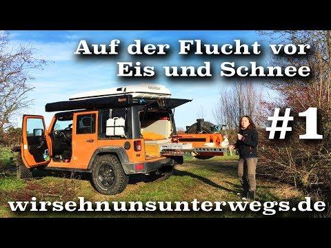 Flucht vor Eis und Schnee. Mit dem Microcamper zu Silvester am Strand | V01 | wirsehnunsunterwegs.de