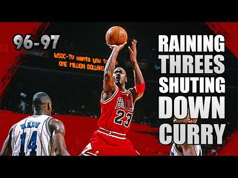 Michael Jordan Highlights vs Hornets (1996.12.19) - 35pts, Destroying DELL CURRY!