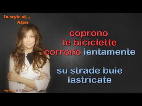 Alice -  Una Notte Speciale - Instrumental
