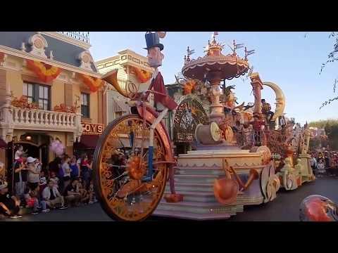 Disney Festival of Fantasy Parade Music   Disneyland Park California Adventure Hours
