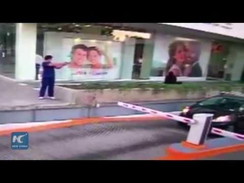 Surveillance Video: Man shoots U.S. consular official in western Mexico