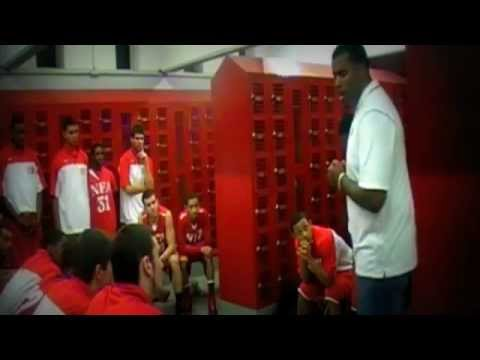 Inspirational Locker Room Speech!(NFA Basketball)