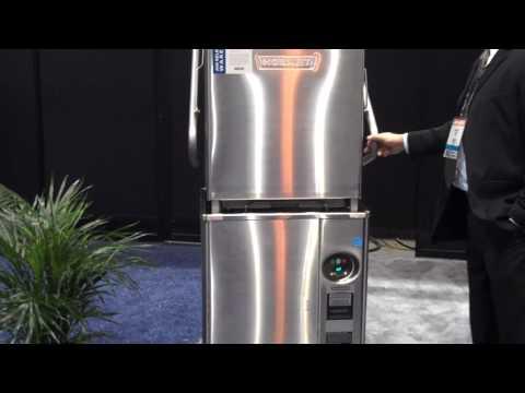 Hobart's Advansys Ventless Door Type Commercial Dishwasher