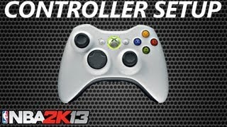 NBA 2K13 Walkthrough | Controller Setup