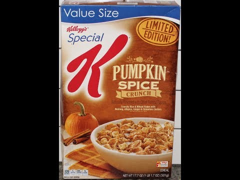 Kellogg's Special K Pumpkin Spice Crunch Cereal Review