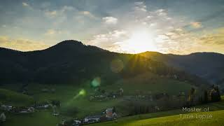 264 Time Lapse Black Forest Sunrise Mountains | Zeitraffer Schwarzwald Sonnenaufgang Berge 4K