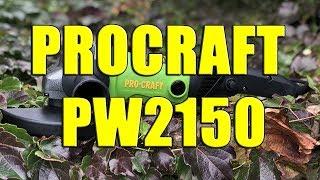 Машина угловая шлифовальная PROCRAFT PW 2150 180 мм