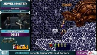Jewel Master by Breakdown in 12:25 - SGDQ 2016 - Part 138