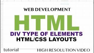 Download lagu HTML Layout Elements Div Section etcCSS Flexbox HTML5JavaScript Part 4 MP3