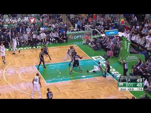 San Antonio Spurs vs Boston Celtics - Full Game Highlights - October 30, 2017 - 2017-18 NBA season