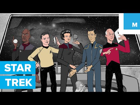 Every 'Star Trek' TV Series in 3 Minutes  Mashable TL;DW