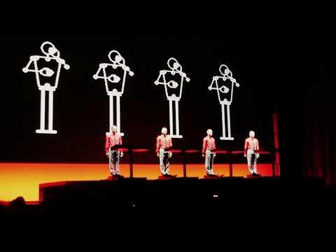Kraftwerk 3D - Live - The Robots - Elisabethzaal Antwerpen / Belgium - 20 /05 /2017
