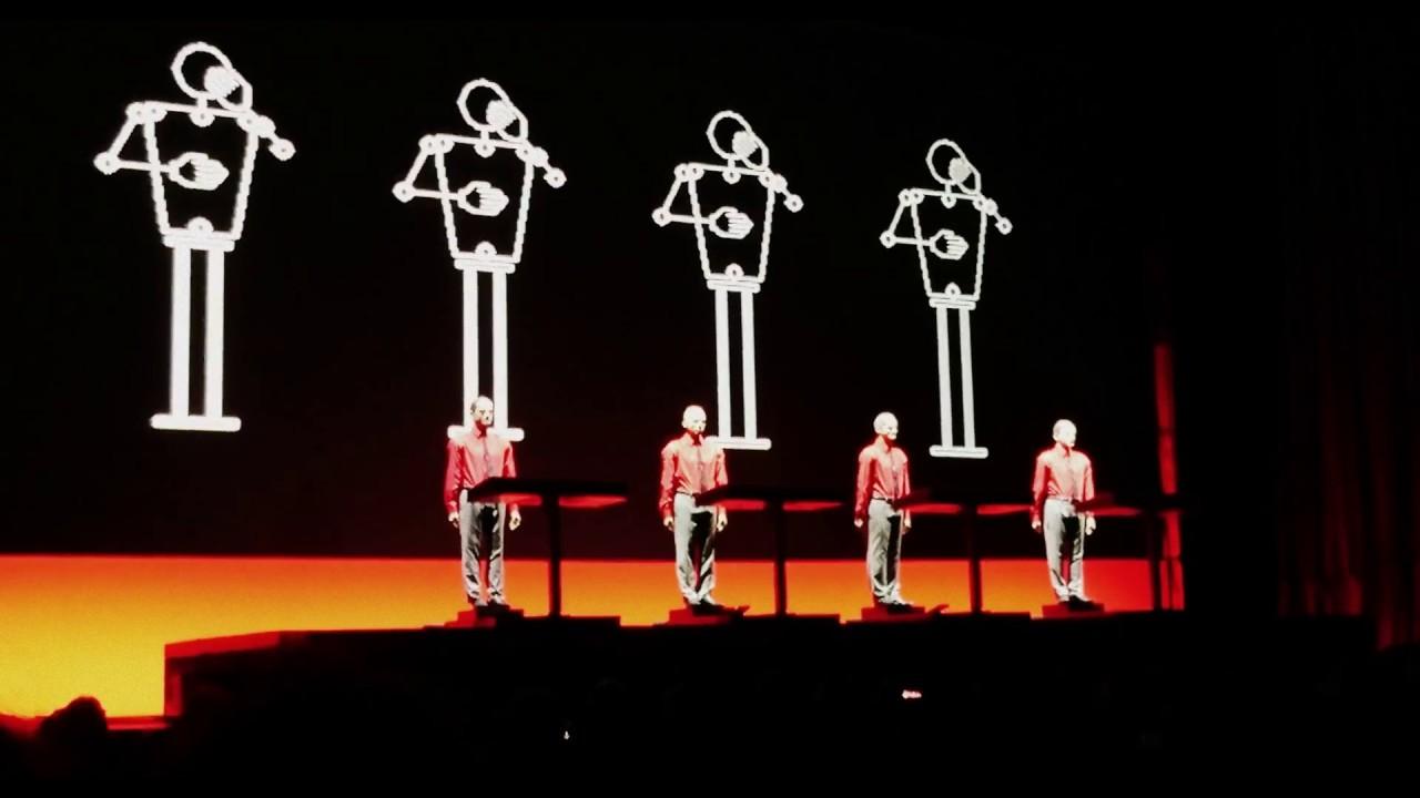 Kraftwerk 3D - Live - The Robots - Elisabethzaal Antwerpen ...Kraftwerk 3d