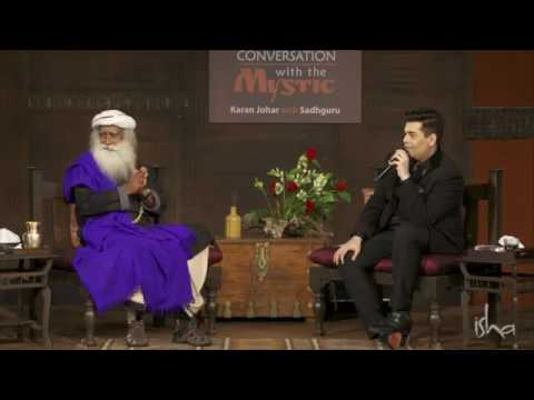 A  questioner roasted by Sadhguru and Karan Johar- In Conversation With The Mystic