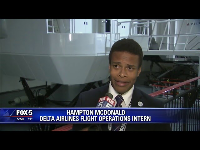 Delta Wish from Kids Wish Network Inspires Kid to Become Pilot