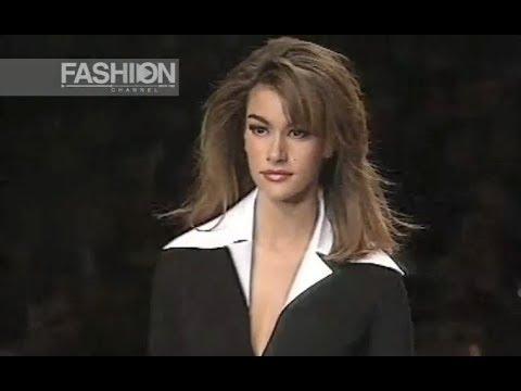 KARL LAGERFELD Spring Summer 1992 Paris - Fashion Channel