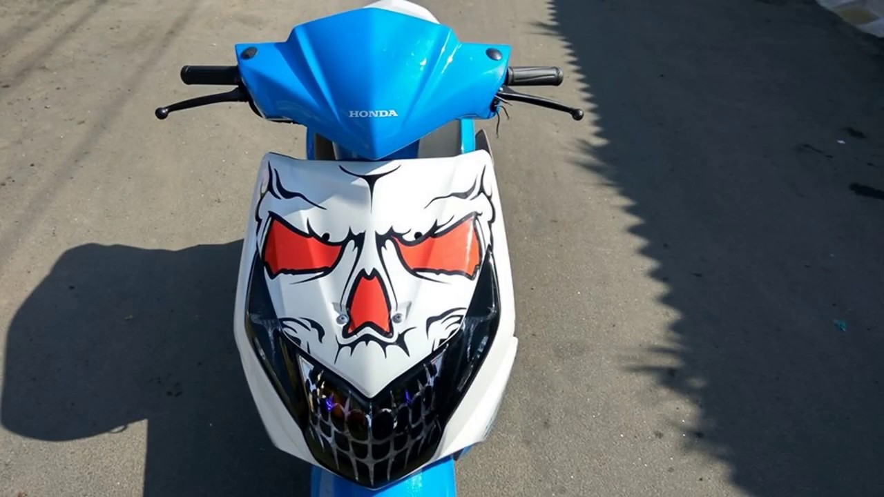 Dio modified 2017 honda dio stickering graphics designs