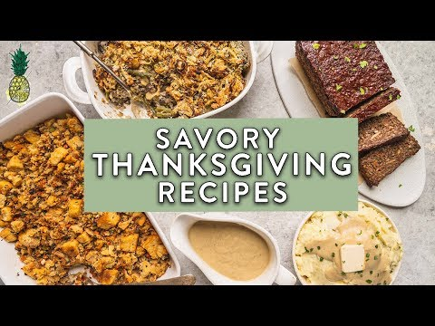 5 Must-Try Savory Thanksgiving Recipes (Vegan)