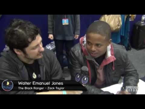 "On The Spot - ""The Black Ranger"" Walter Emanuel Jones Interview ..."