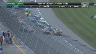 Monster Energy NASCAR Cup Series 2017. Michigan International Speedway 2. Overtime