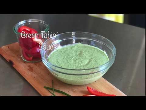 Green Tahini Sauce