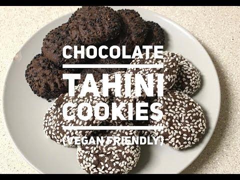 Gluten-Free Chocolate Tahini Cookies